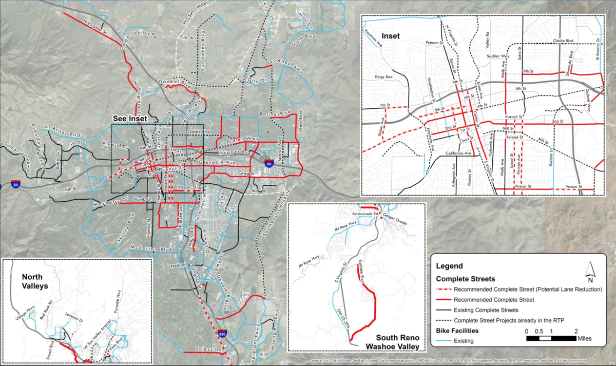 Complete Streets Recommendation