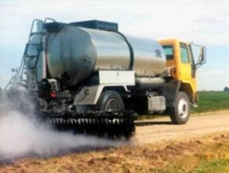 Medium asphalt distributor