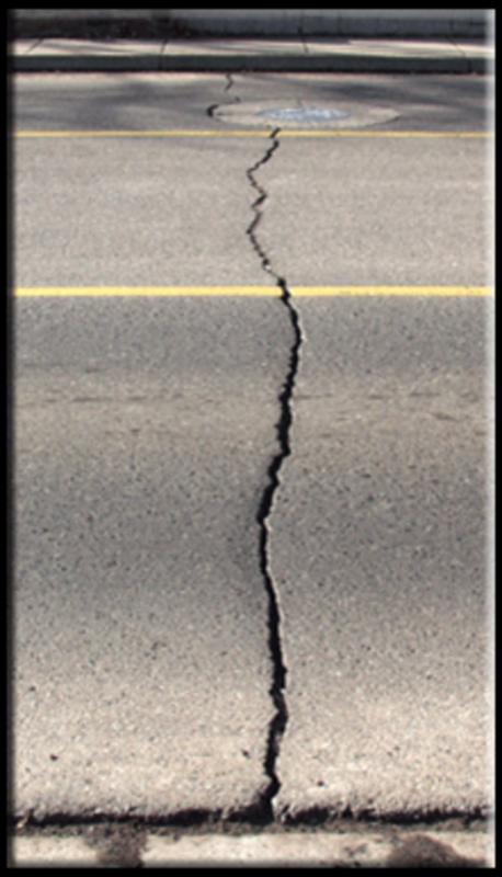 Medium transverse cracks