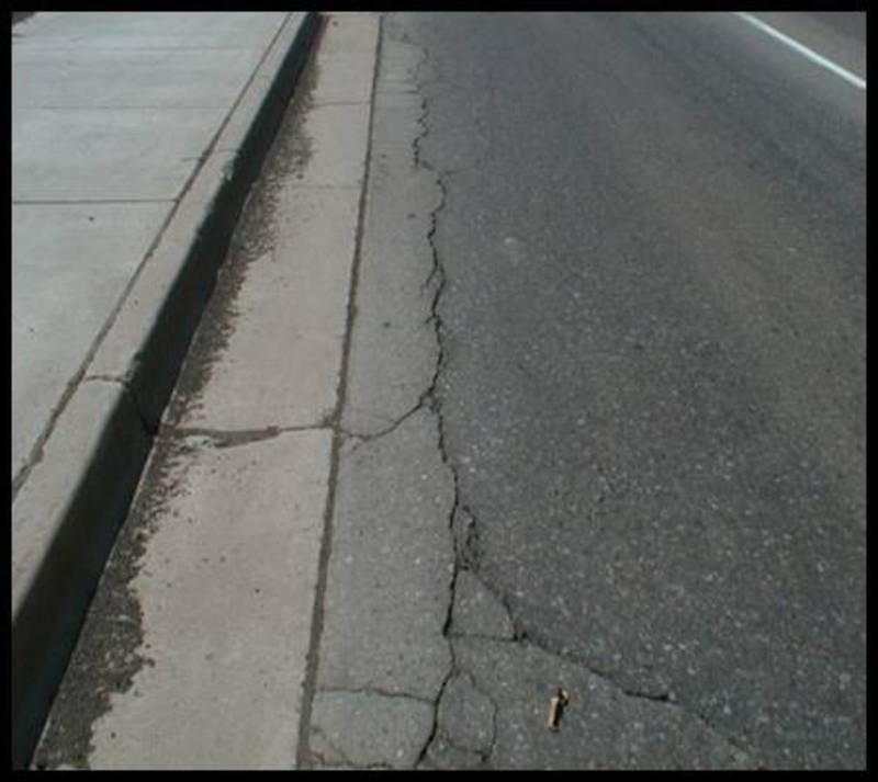 Medium edge crack
